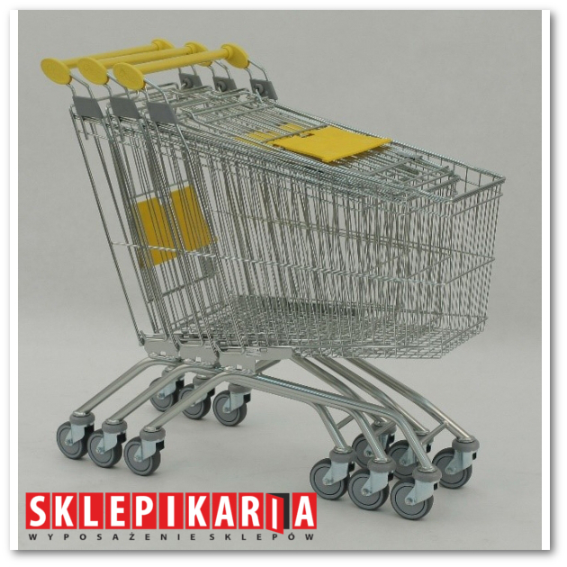 Tani wózek sklepowy