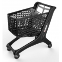 Wózek sklepowy MIDI 160L All Black