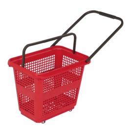 Koszyk sklepowy na kółkach BARCELONA