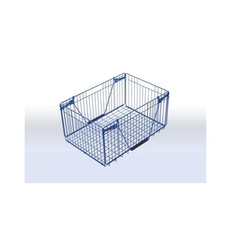 Koszyk metalowy składany