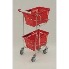 Wózek na 2 koszyki