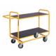 Wózek platformowy półkowy