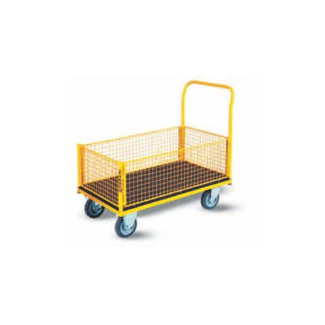 Wózek platformowy osiatkowany