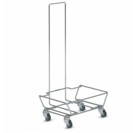 Wózek do składowania koszyków