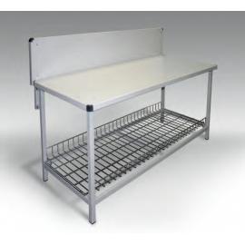 Stół metalowy do pakowania towarów